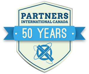 Partners International Canada 50th Logo