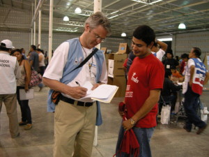 On two occasions, Kevin Dixon has served as an international observer at presidential elections in El Salvador.